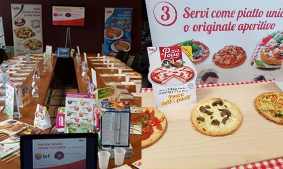 Chef Bertolini è la prima in Veneto a lanciare il progetto 'aPizzaPollo