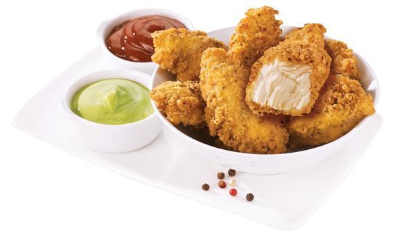 Meteoritos i Maxi Finger Food al gusto Southern Fried