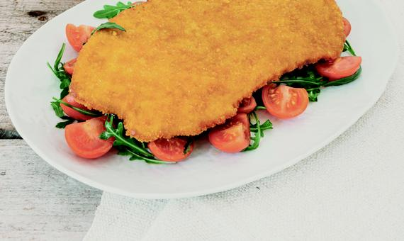 Giga Cutlet: una grande cotoletta con tenero filetto di pollo in croccante panatura!