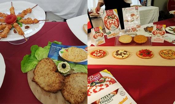 Seconda tappa del tour 'aPizzaPollo: New Catering ospita Sadia presso il Zanhotel&Meeting Centergross di Bologna
