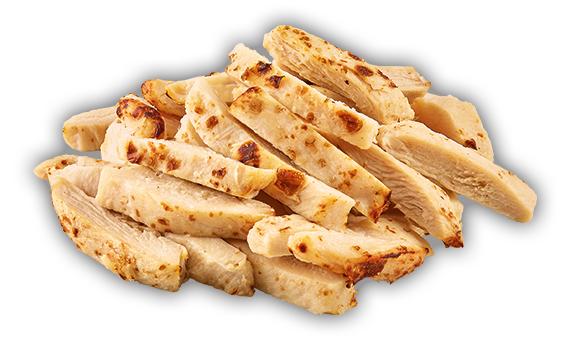 Straccetti di petto di pollo arrosto