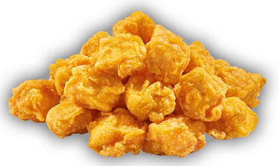 Chunks di petto di pollo Pastellati