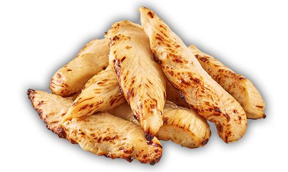 Filettini di petto di pollo arrosto