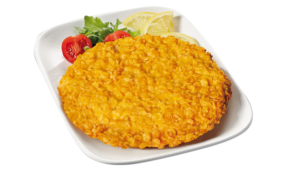Giga Burger Crock  - Panatura Corn Flakes a foglia intera